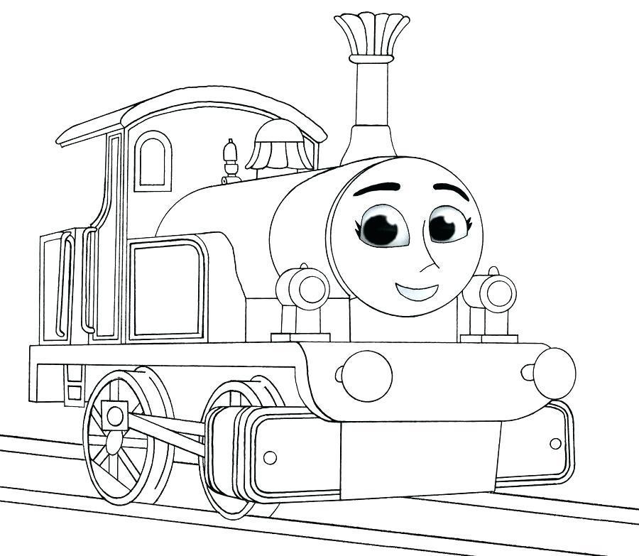 Download thomas the tank engine to colour clipart Thomas Train ...