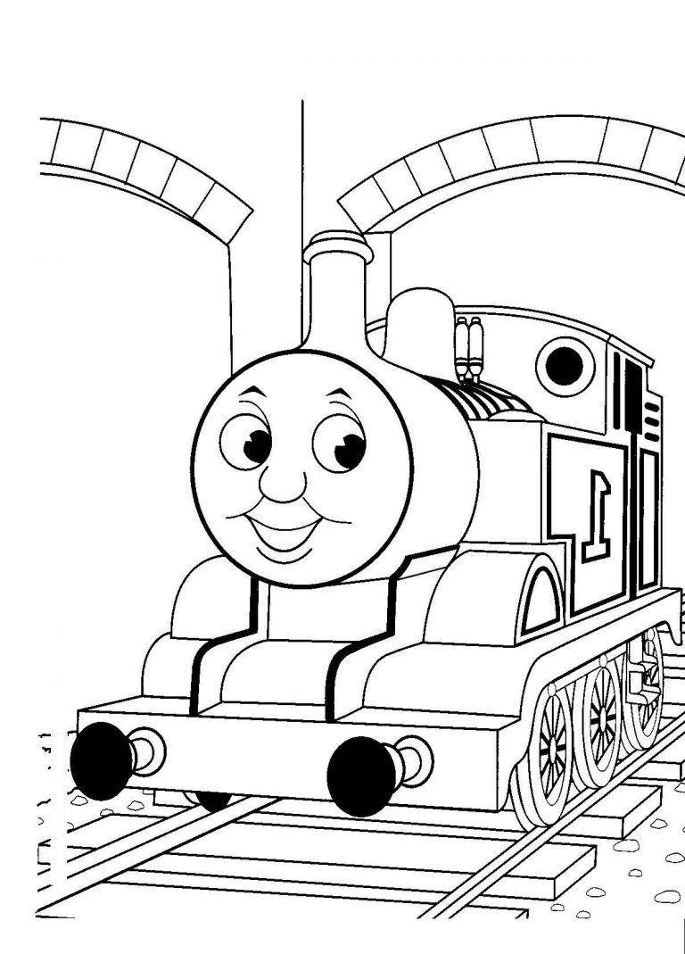 Download Thomas The Tank Engine Drawing Clipart Percy Train