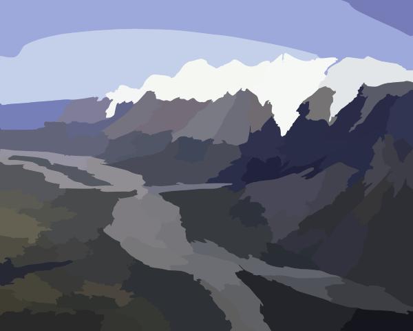 Mountain Cartoon