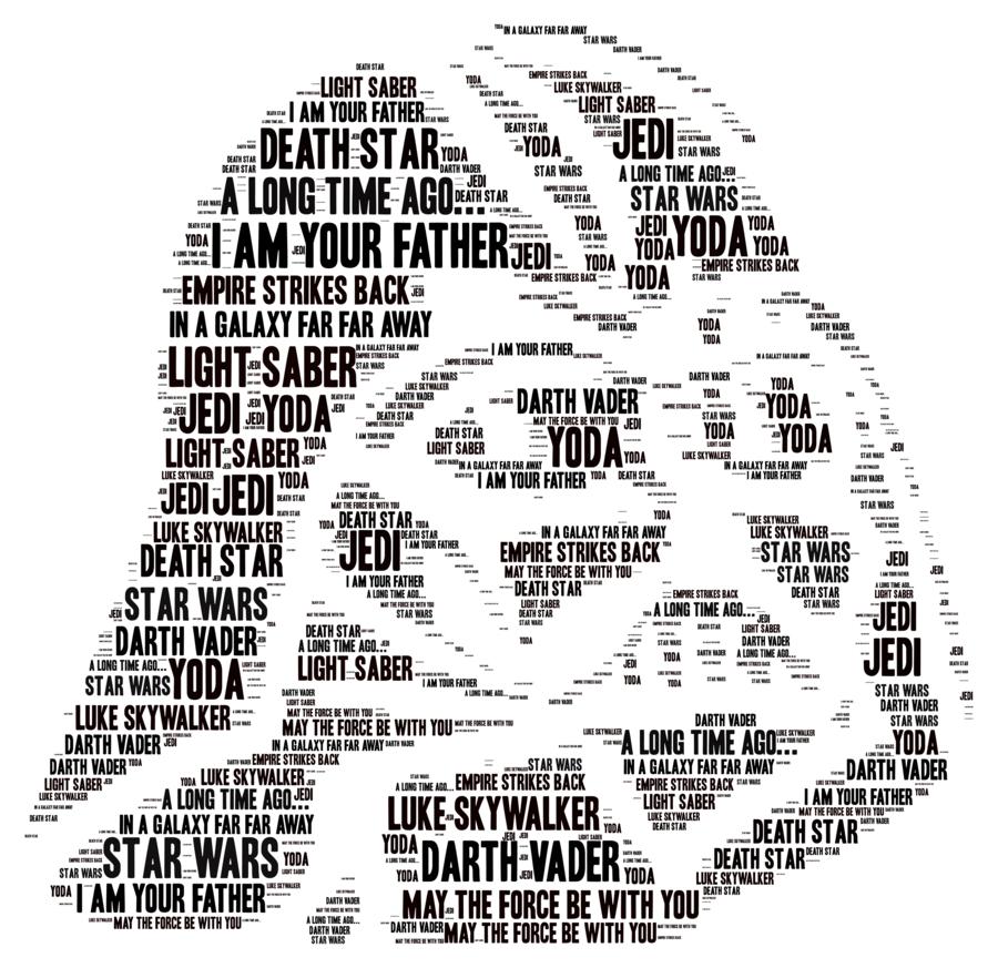 Star Wars clipart - Text, Head, Font, transparent clip art