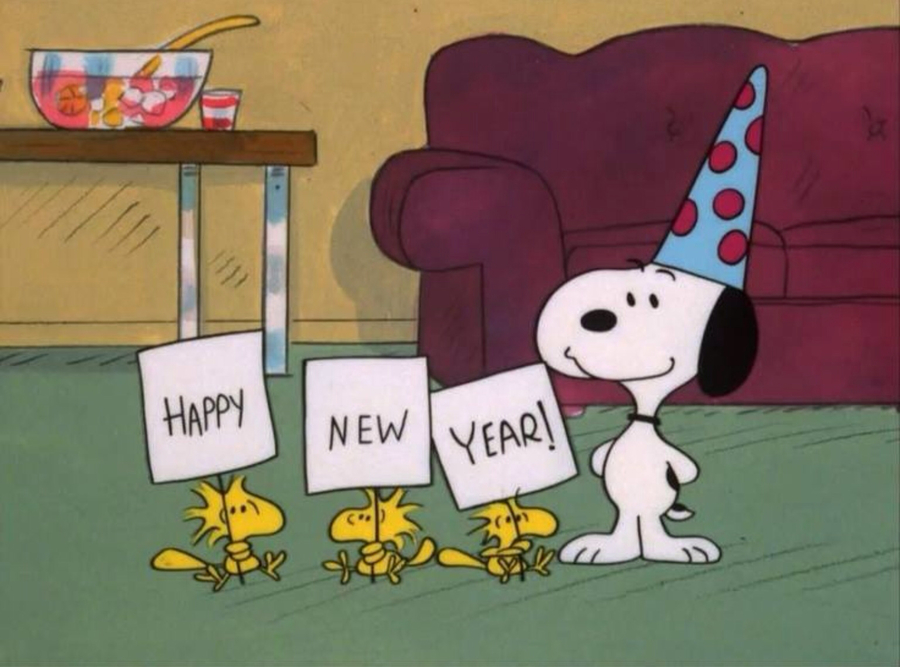 snoopy new years eve clipart snoopy charlie brown new year