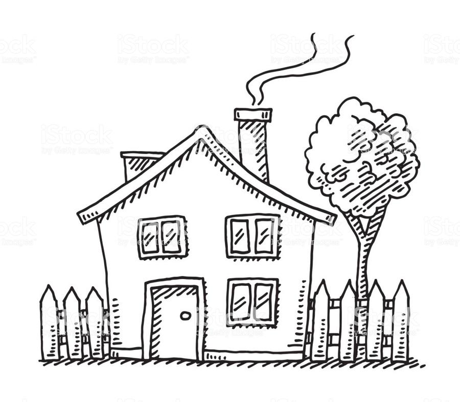 Download Cartoon House Drawing Clipart Drawing Cartoon