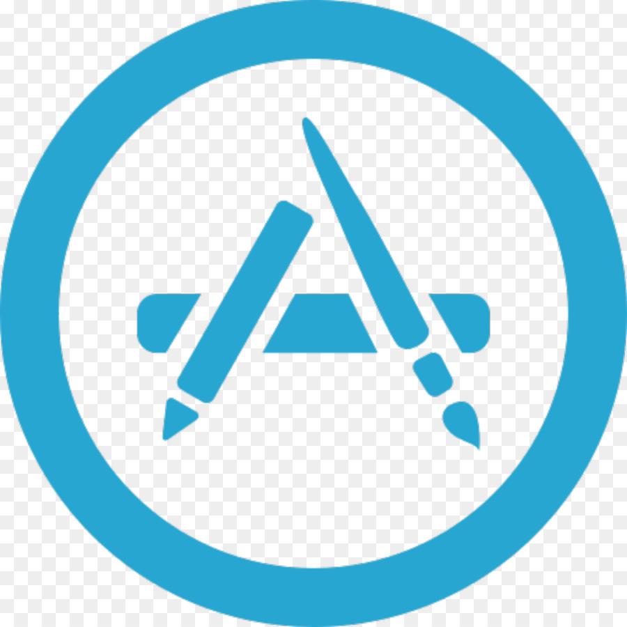 Apple, Blue, Text, transparent png image & clipart free download