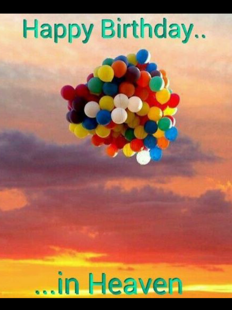 Download Happy Birthday Images In Heaven Clipart Birthday Wish