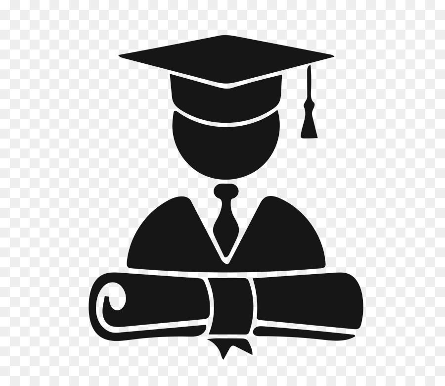 Graduation Cartoon Clipart College University Student Transparent Clip Art