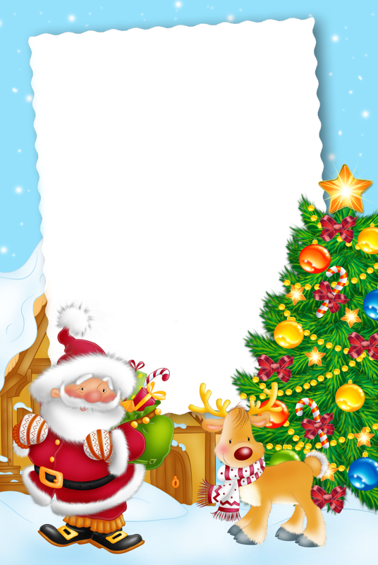 Christmas Tree Illustration Clipart Paper Letter Gift Transparent Clip Art