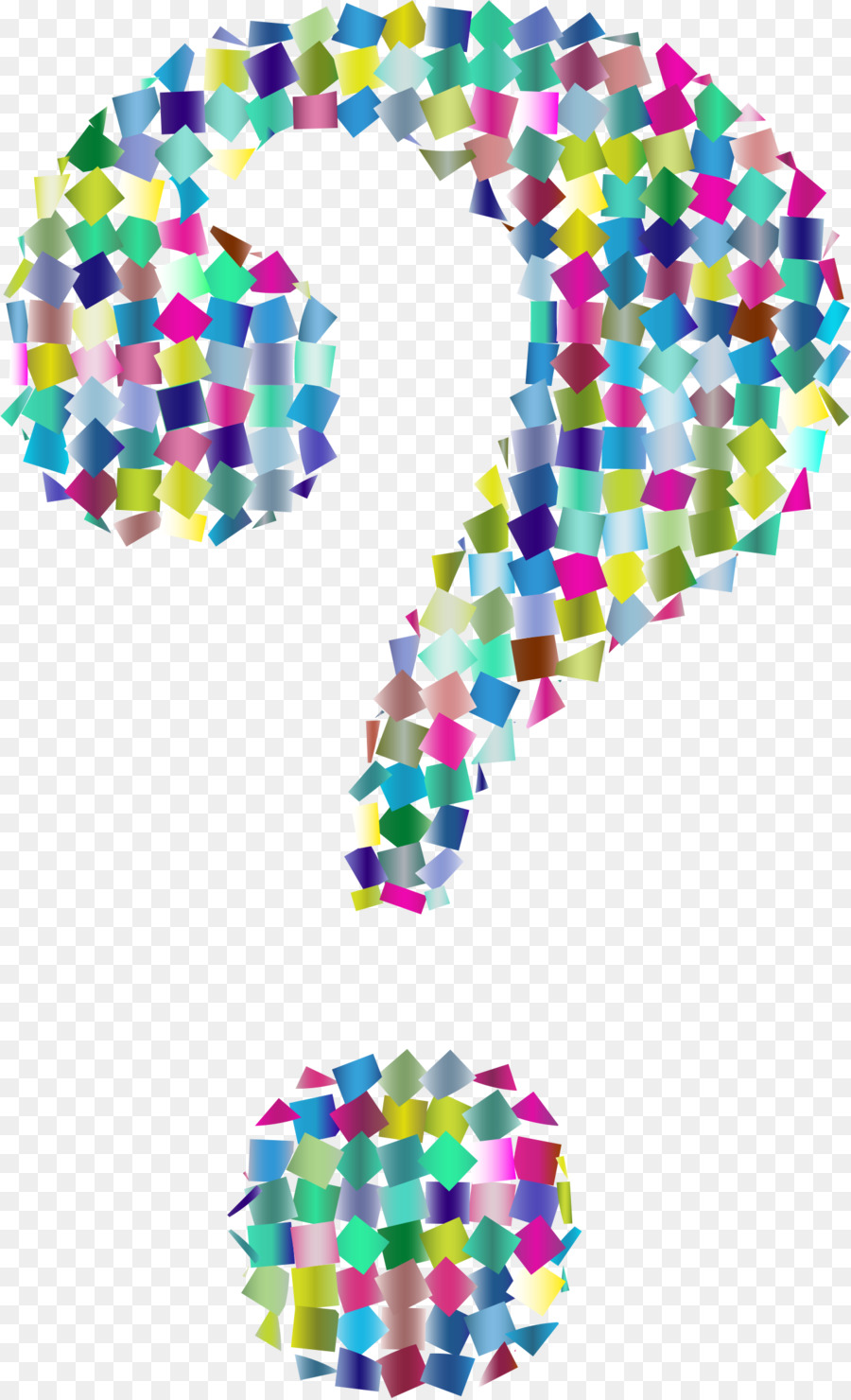 Question mark colorful. Background clipart line design