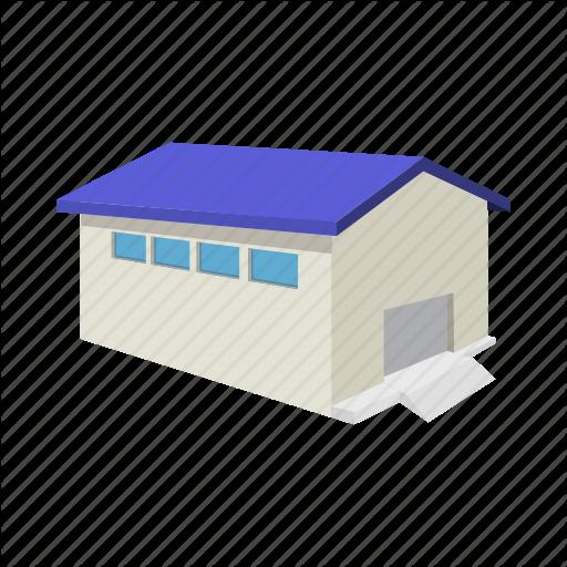 Warehouse Cartoon