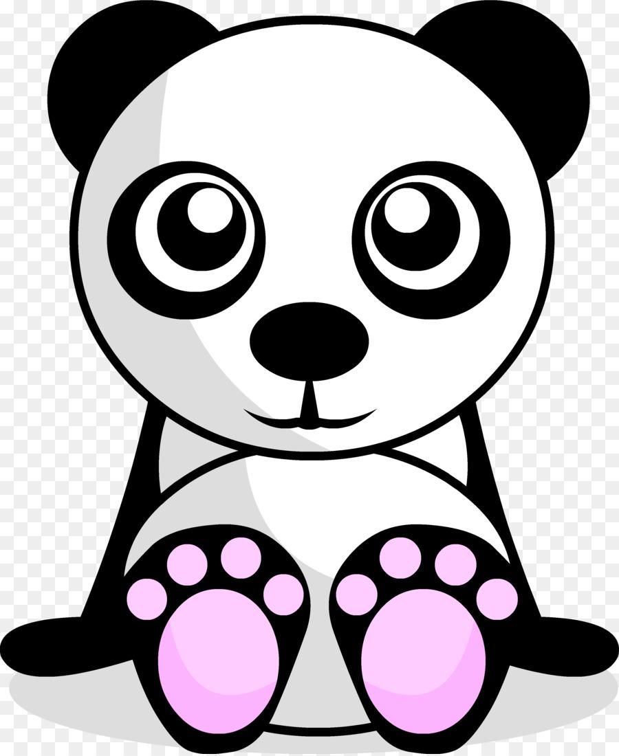 Giant panda clipart Giant panda Bear Drawing
