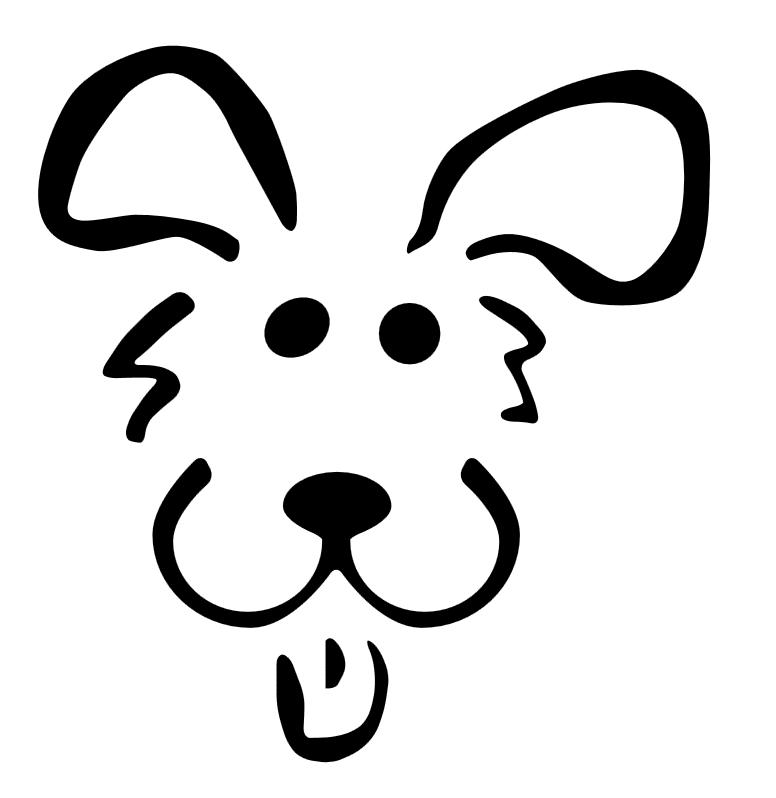 Download Dog Stencil Clipart French Bulldog Stencil Jack O Lantern