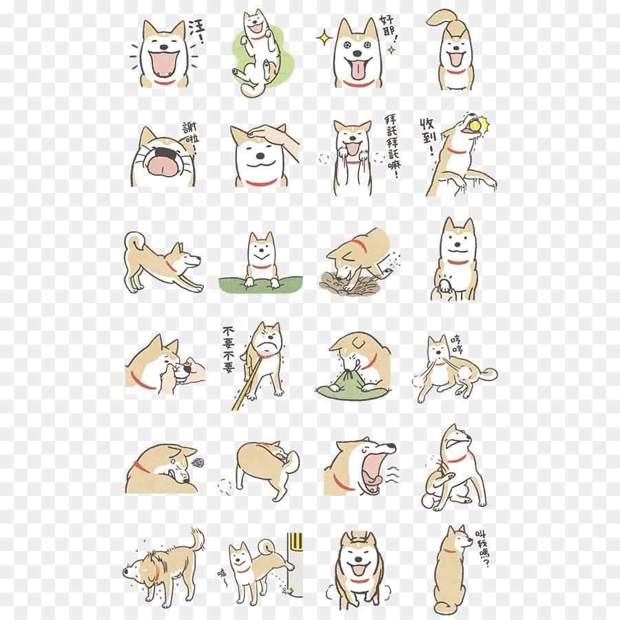 Shiba Inu Cartoon