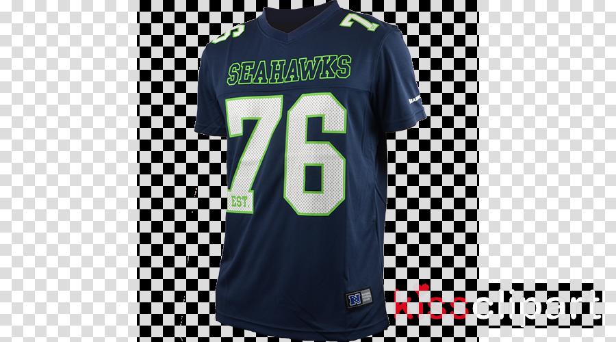 majestic athletic seattle seahawks fanshirt herren, größe: s funktionsmaterial clipart Sports Fan Jersey T-shirt Seattle Seahawks