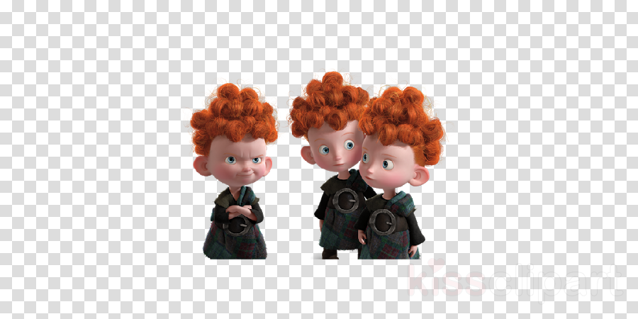 brave the triplets birthday edible image photo 1/4 quarter sheet cake topper personalized custom customized birthday party clipart Brave Queen Elinor Merida