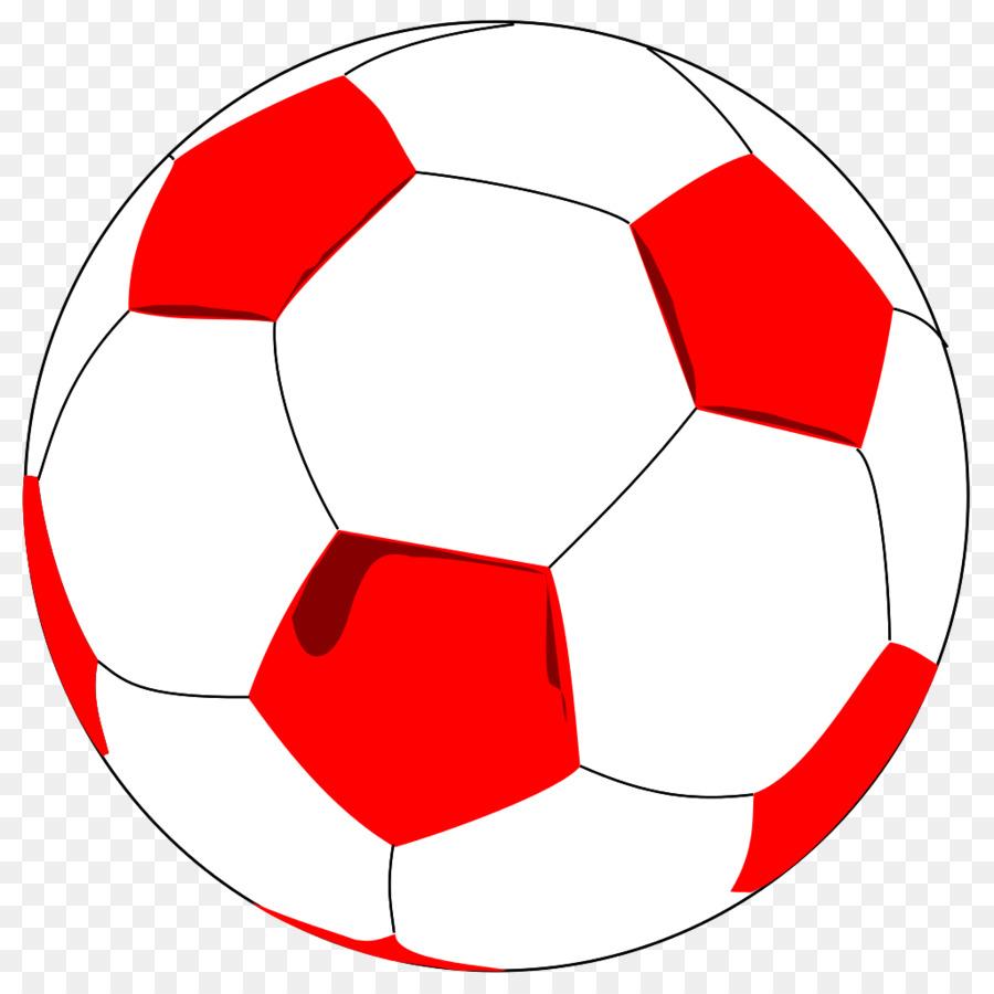 Soccer ball red. Clipart football transparent clip