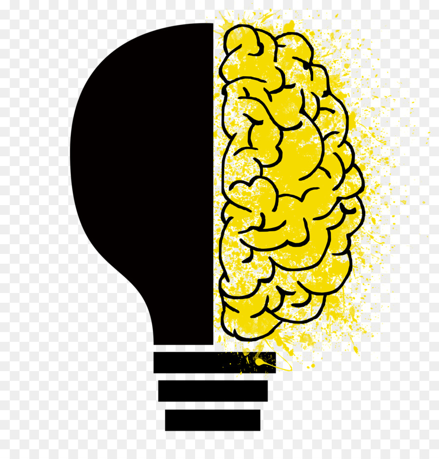Brain psychology. Clipart drawing transparent clip