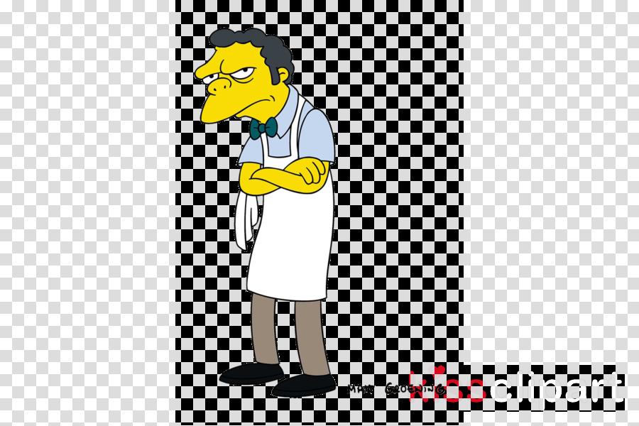 moe simpsons clipart Moe Szyslak Homer Simpson Otto Mann