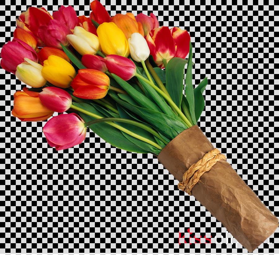 tulip bouquet flowers png clipart Flower bouquet Tulip