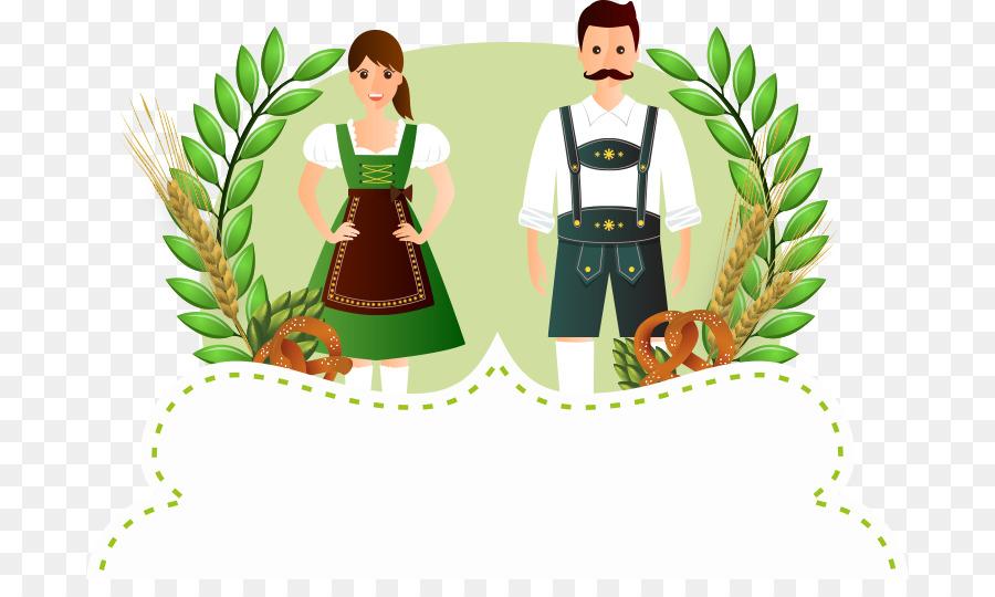Folk costume clipart Oktoberfest in Munich 2018 Vertebrate Folk costume