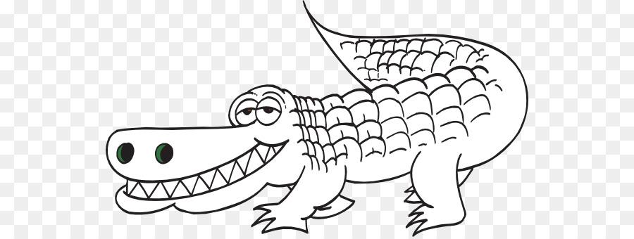 Download alligator coloring page clipart Crocodile Coloring book ...