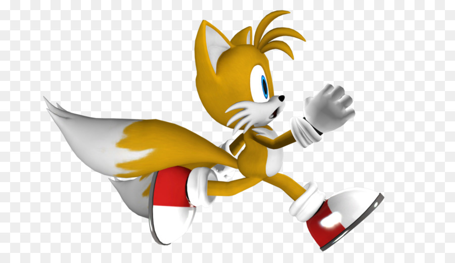 Sonic The Hedgehog Clipart Yellow Cartoon Wing Transparent