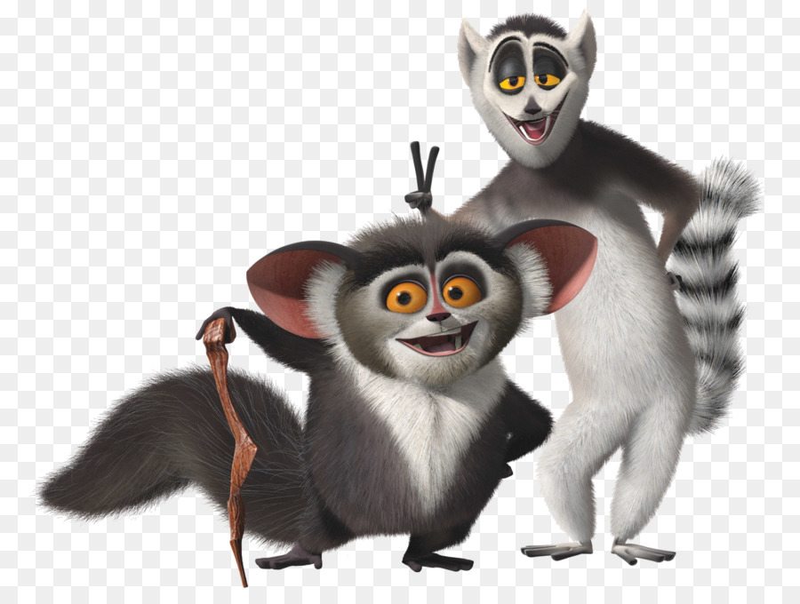madagascar movie clipart Julien Lemurs Kowalski