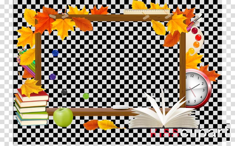 Download Back To School Frame Clip Art Clipart School Clip Art