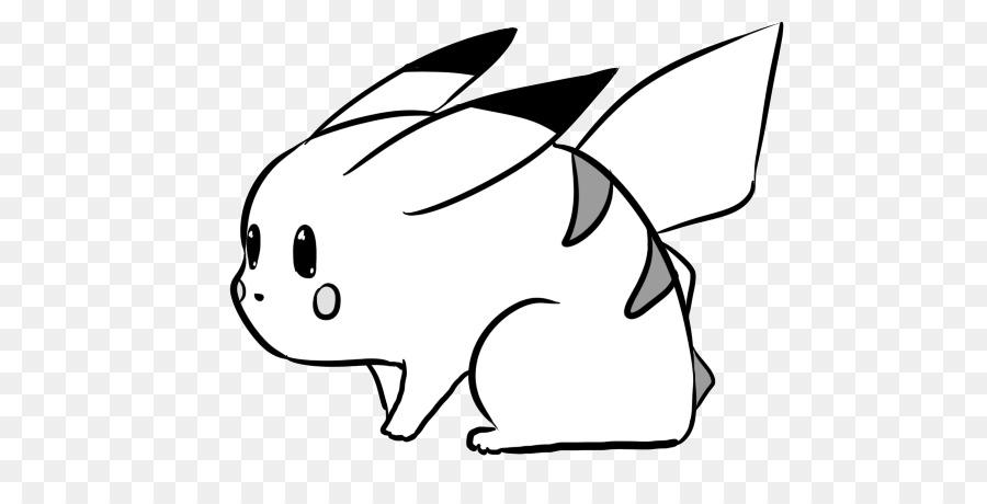 Pikachu Black And White