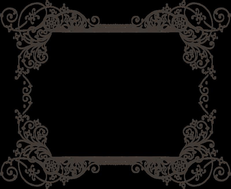 Border Design Black And White clipart - Art, Ornament