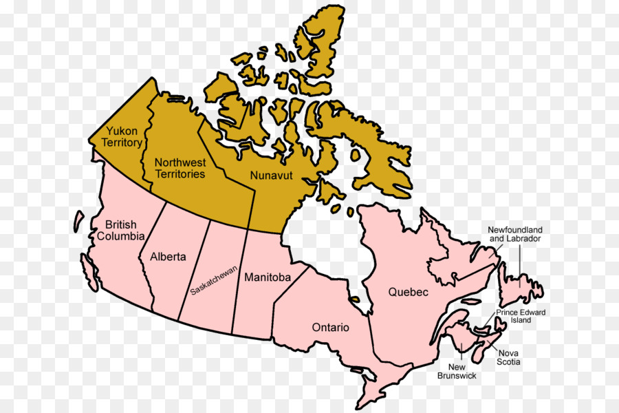 Map Of Canada Confederation.World Cartoontransparent Png Image Clipart Free Download