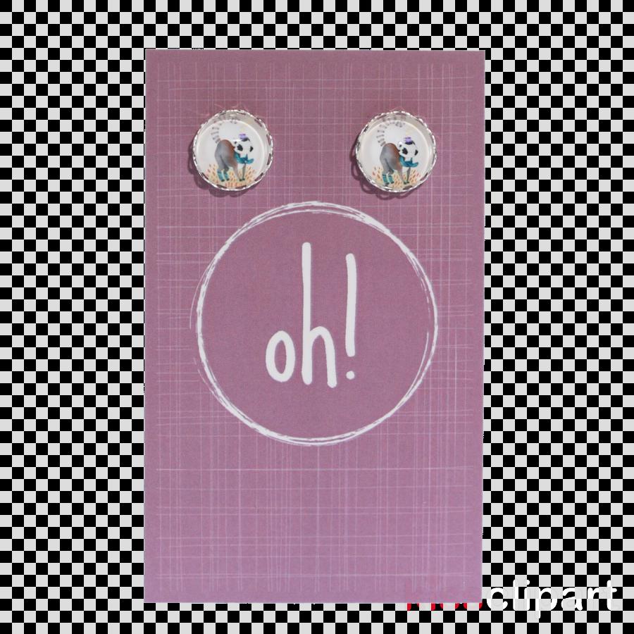 Earring clipart Earring Button Cufflink