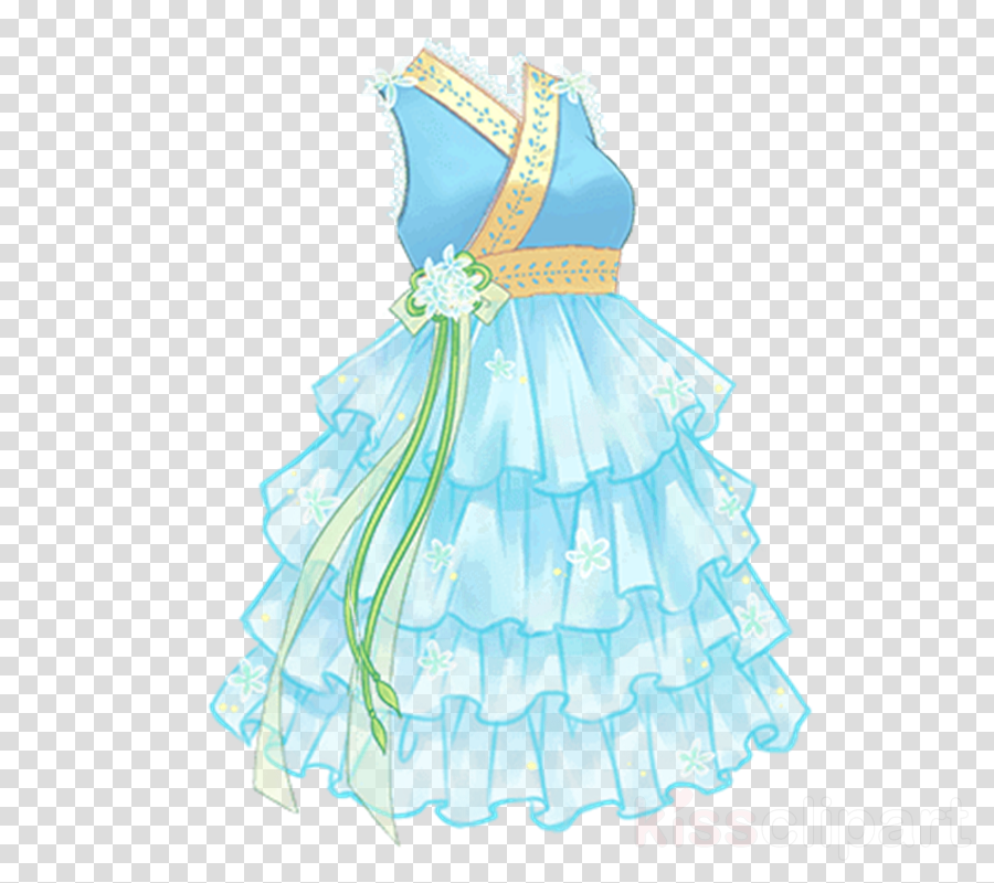 Clothing clipart Clothing Party dress