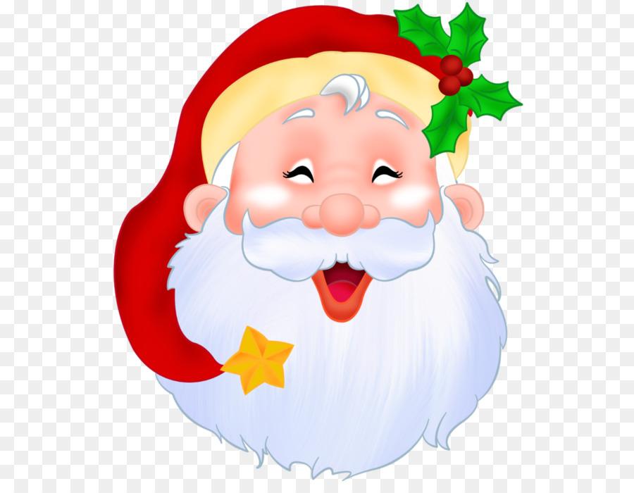Santa Claus Face No Background Clipart Santa Claus Clip Art Christmas Clip Art