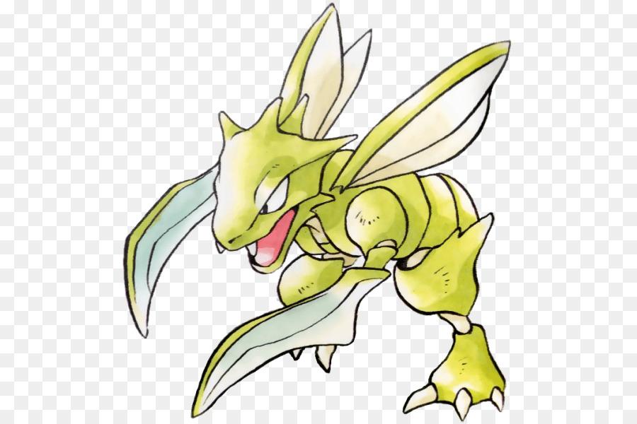 scyther official art clipart Pokémon Red and Blue Pokémon X and Y Pokémon GO