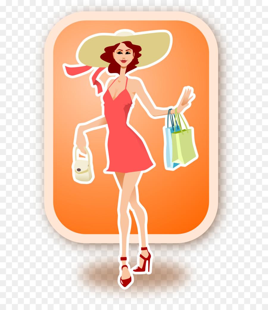Shopping Cartoon