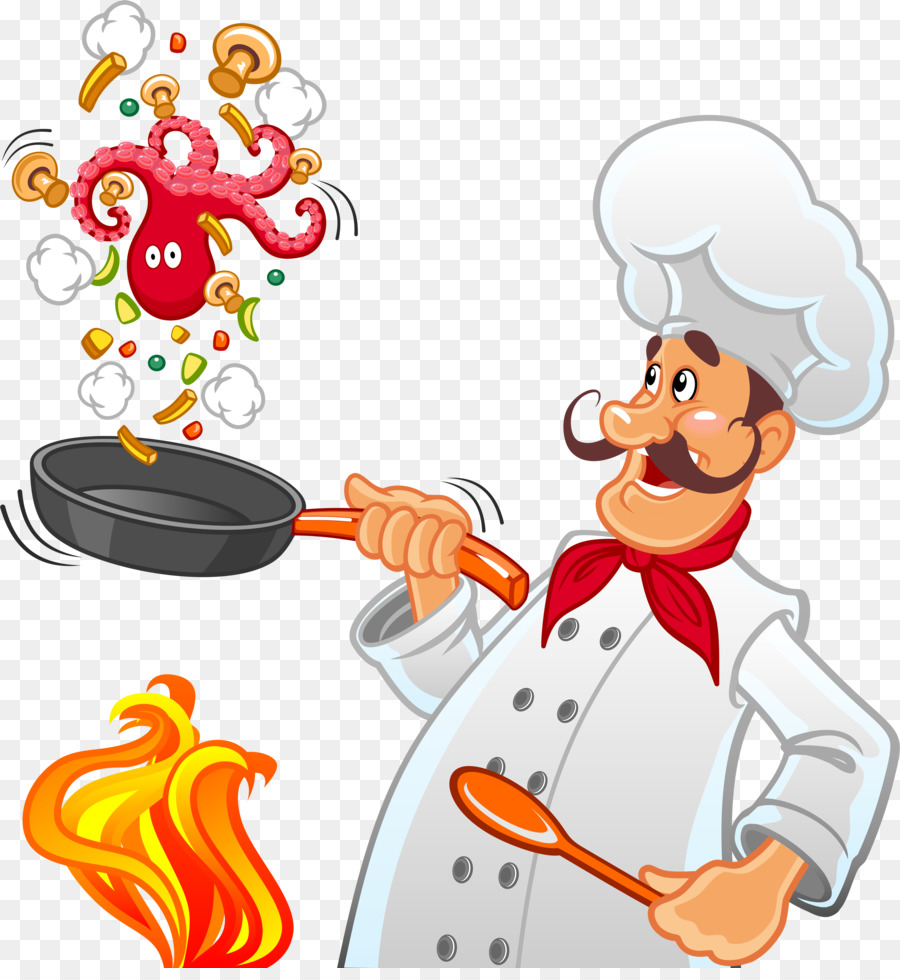 Chef Cartoon Clipart Chef Cooking Cook Transparent Clip Art