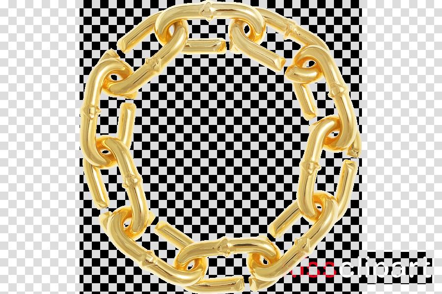 gold chain circle png clipart Chain Clip art