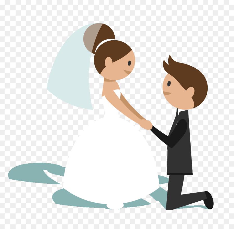 Wedding Couple Cartoon