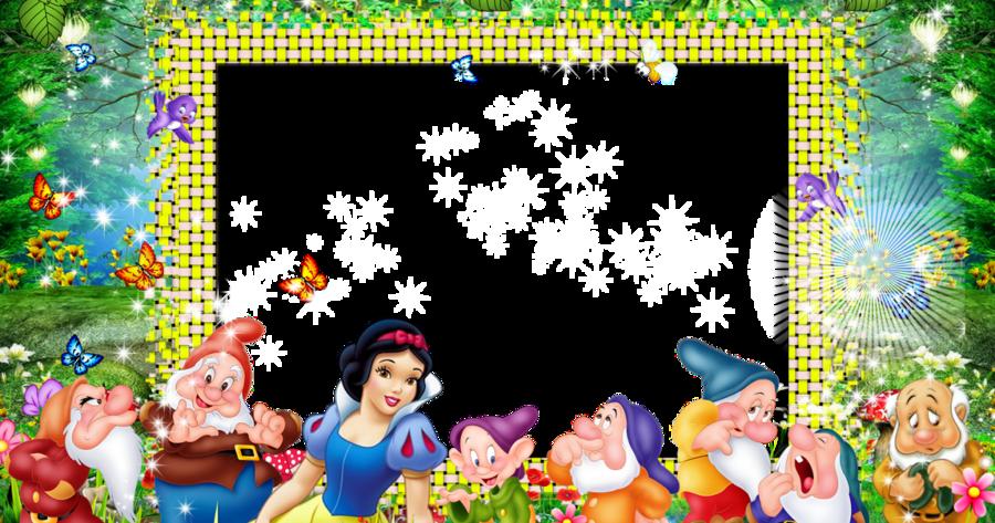 snow white photo frame