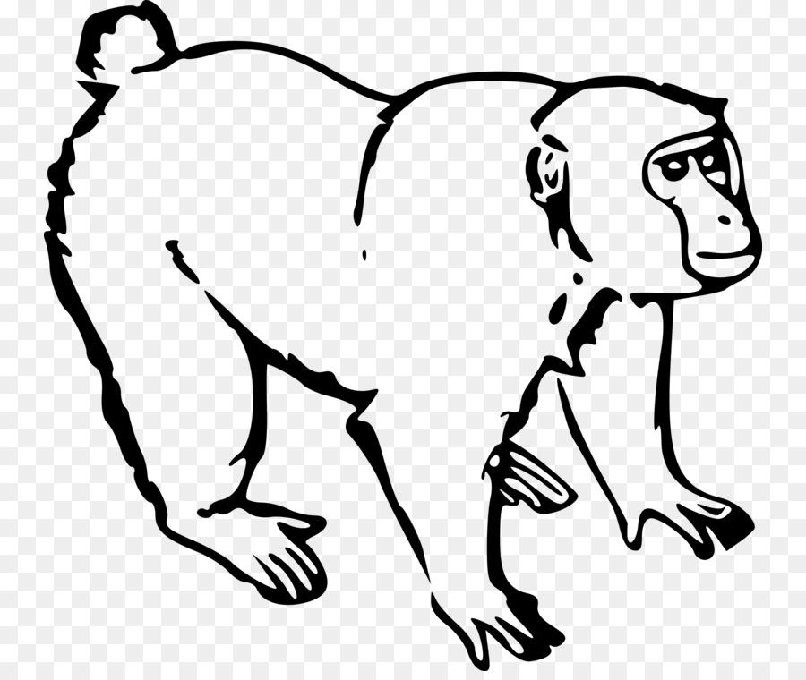 baboon mugs clipart Baboons Chimpanzee Gorilla