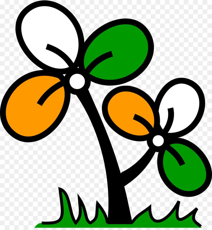 flag: all india trinamool congress political party clipart Kolkata All India Trinamool Congress Indian National Congress