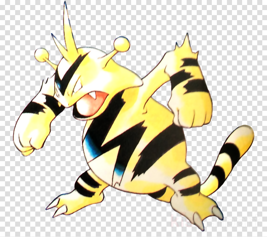 ken sugimori electabuzz clipart Pokémon Red and Blue Pokémon Mystery Dungeon: Blue Rescue Team and Red Rescue Team Pokémon FireRed and LeafGreen