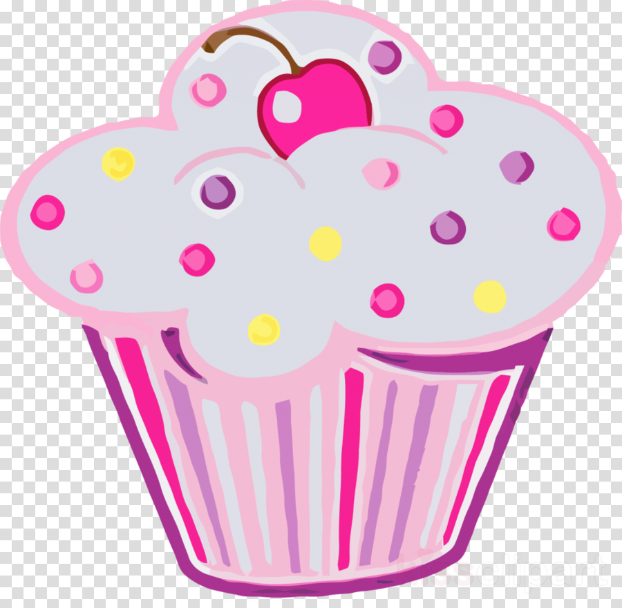 cupcake themed birthday party clipart Cupcake Frosting & Icing American Muffins