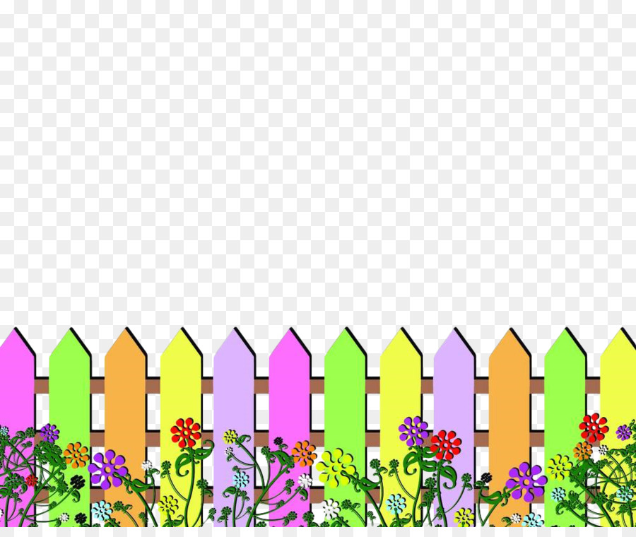 Vector Flowering Tree And Picket Fence With Spring Flowers Royalty Free  Cliparts, Vectors, And Stock Illustration. Image 19666372.