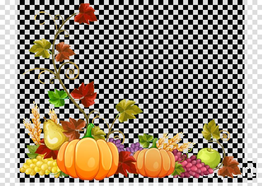 Floral Border Autumn Border