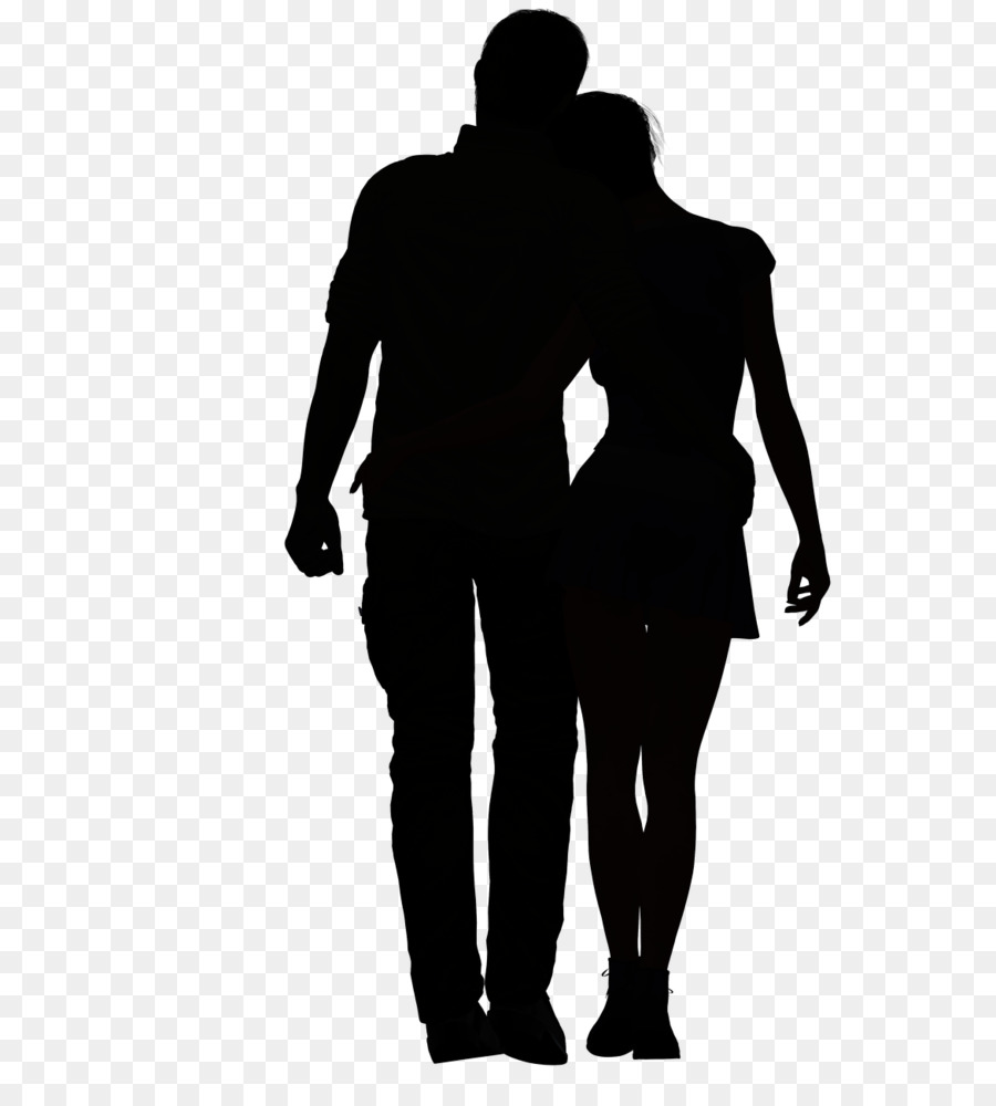 Love black and white clipart silhouette love drawing