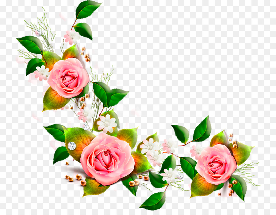 flower rose pink plant art png clipart free download