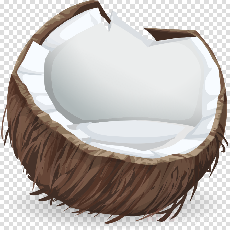 coconut sticker clipart Coconut milk Coconut water Clip art