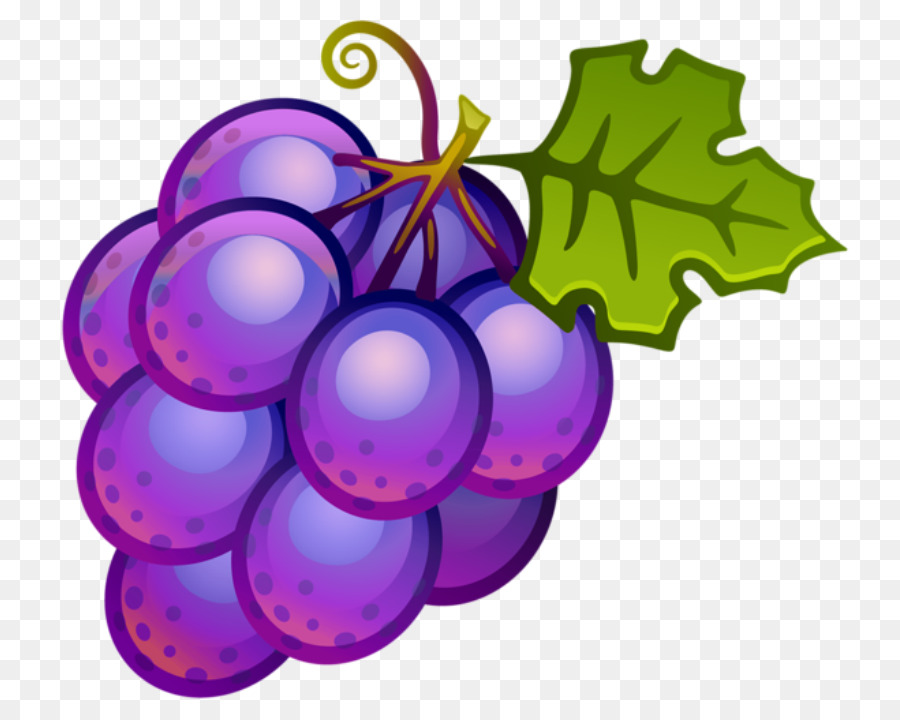 Red Christmas Ornament Clipart Grape Wine Fruit
