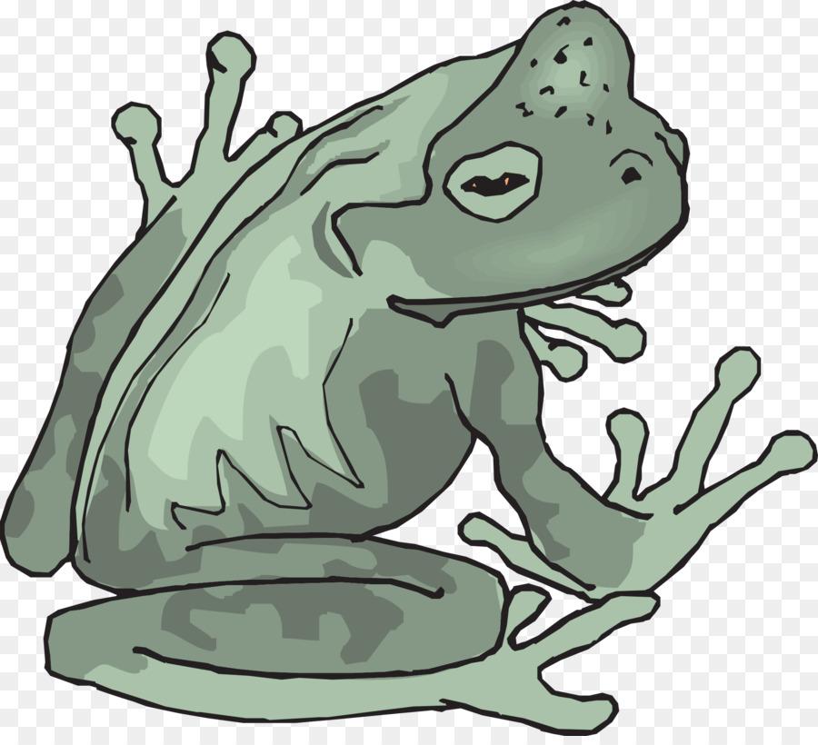 Pond Cartoon