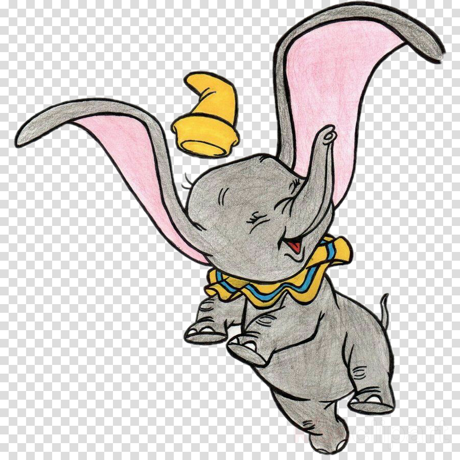 Dumbo clipart drawing the walt disney company